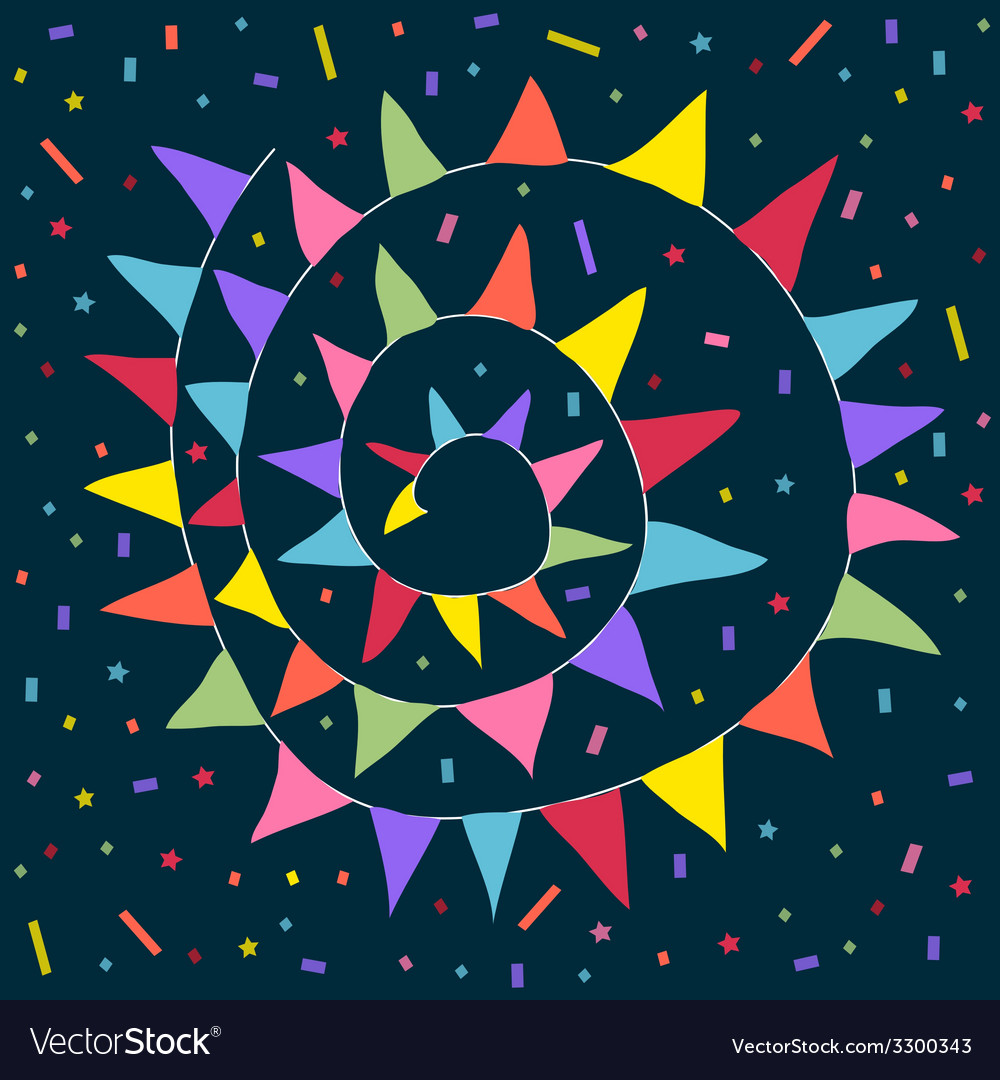 Party festive background vector | Price: 1 Credit (USD $1)