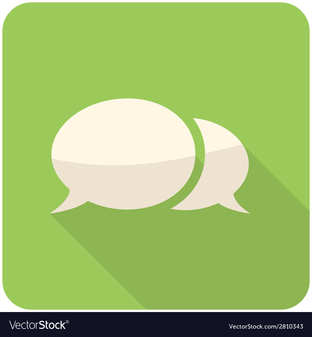 Speech bubble icon vector   Price: 1 Credit (USD $1)