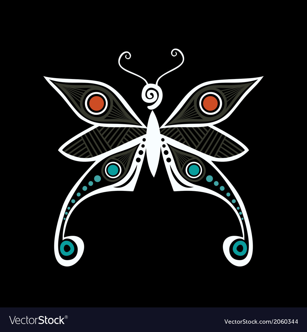 Tattoo butterfly version is in my portfolio vector | Price: 1 Credit (USD $1)