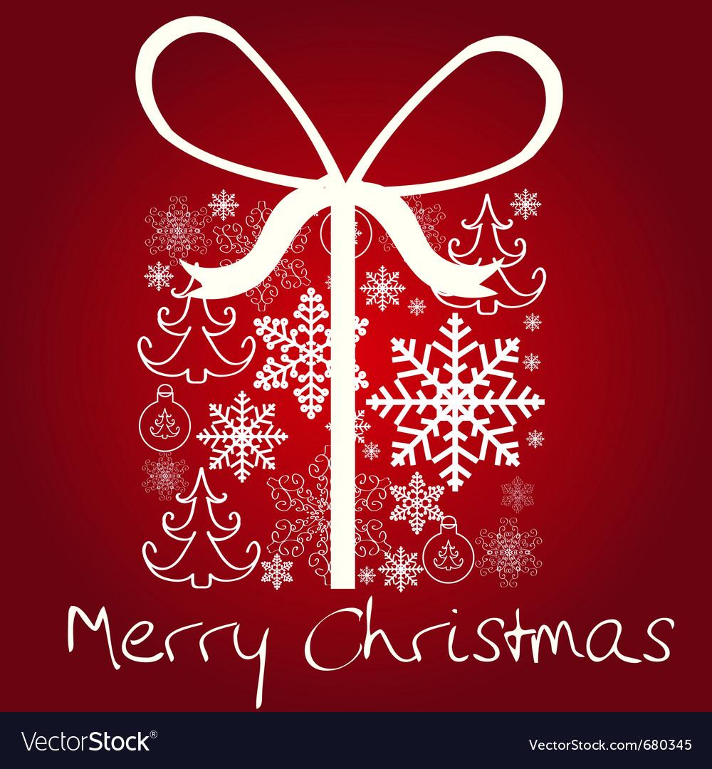 Christmas gift box vector   Price: 1 Credit (USD $1)