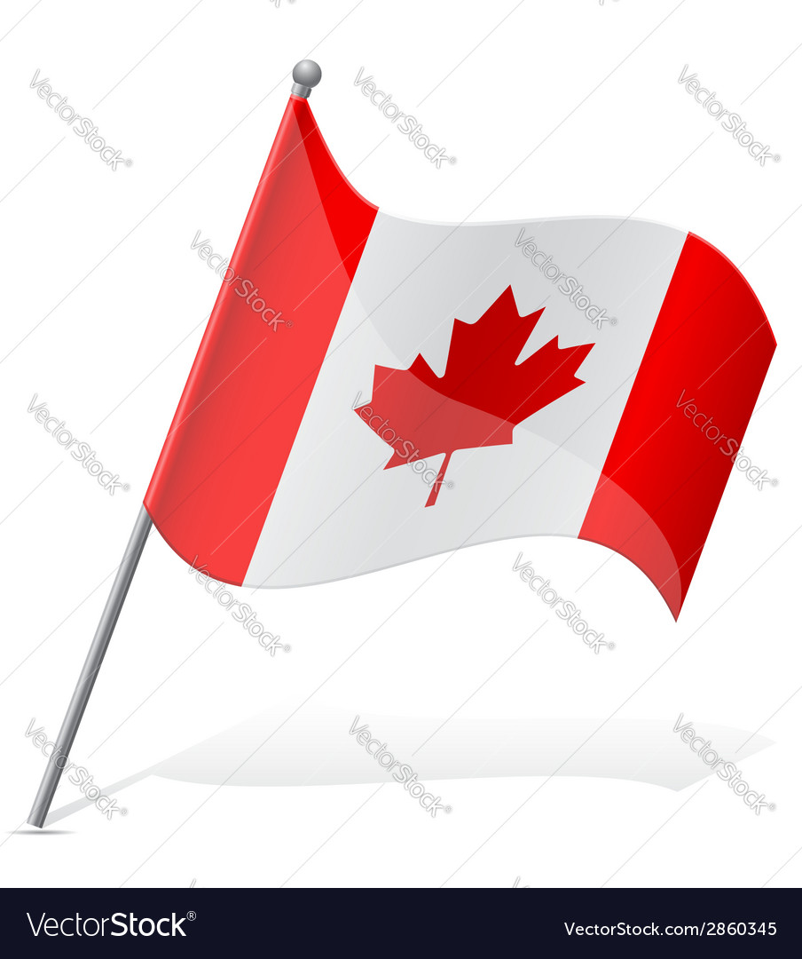 Flag of canada vector   Price: 1 Credit (USD $1)