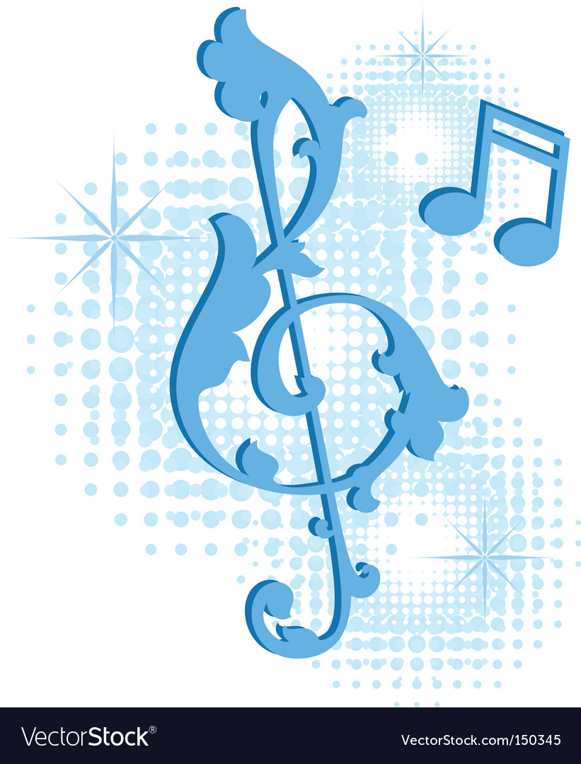 Musical symbol vector | Price: 1 Credit (USD $1)
