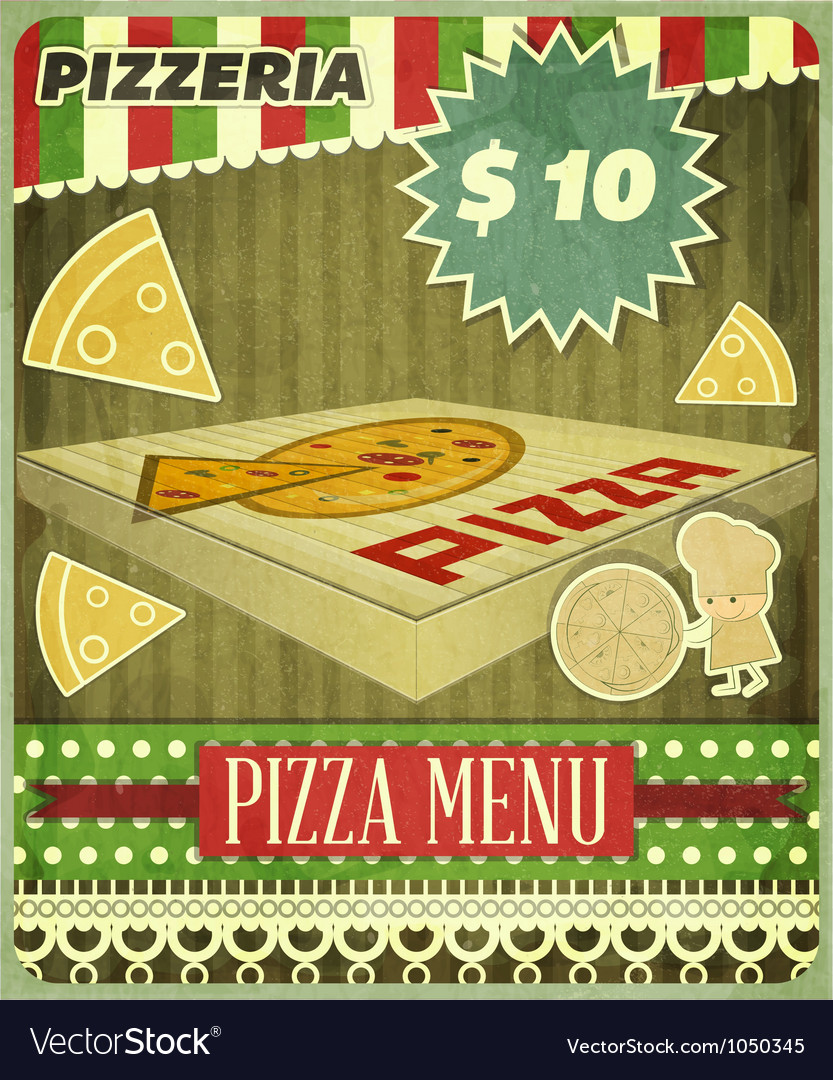 Pizzeria vector | Price: 3 Credit (USD $3)