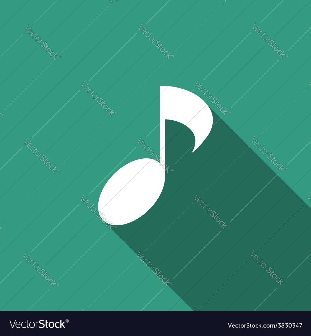 Music note icon vector   Price: 1 Credit (USD $1)