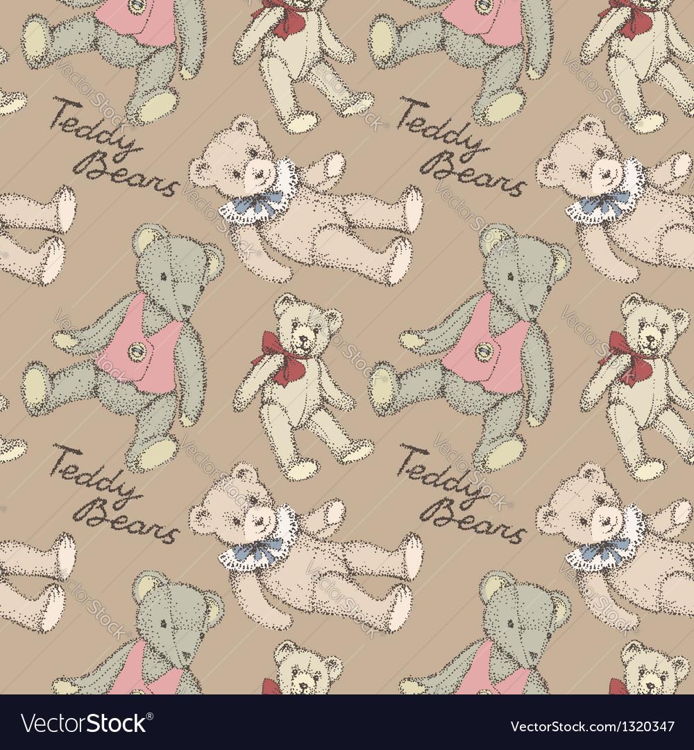 Teddy bears vector   Price: 1 Credit (USD $1)