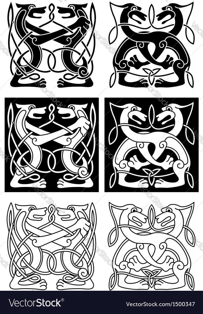 Tribal celtic ornament vector | Price: 1 Credit (USD $1)