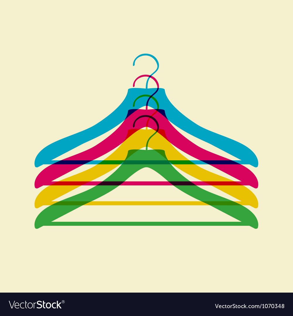 Clothes hanger vector | Price: 1 Credit (USD $1)