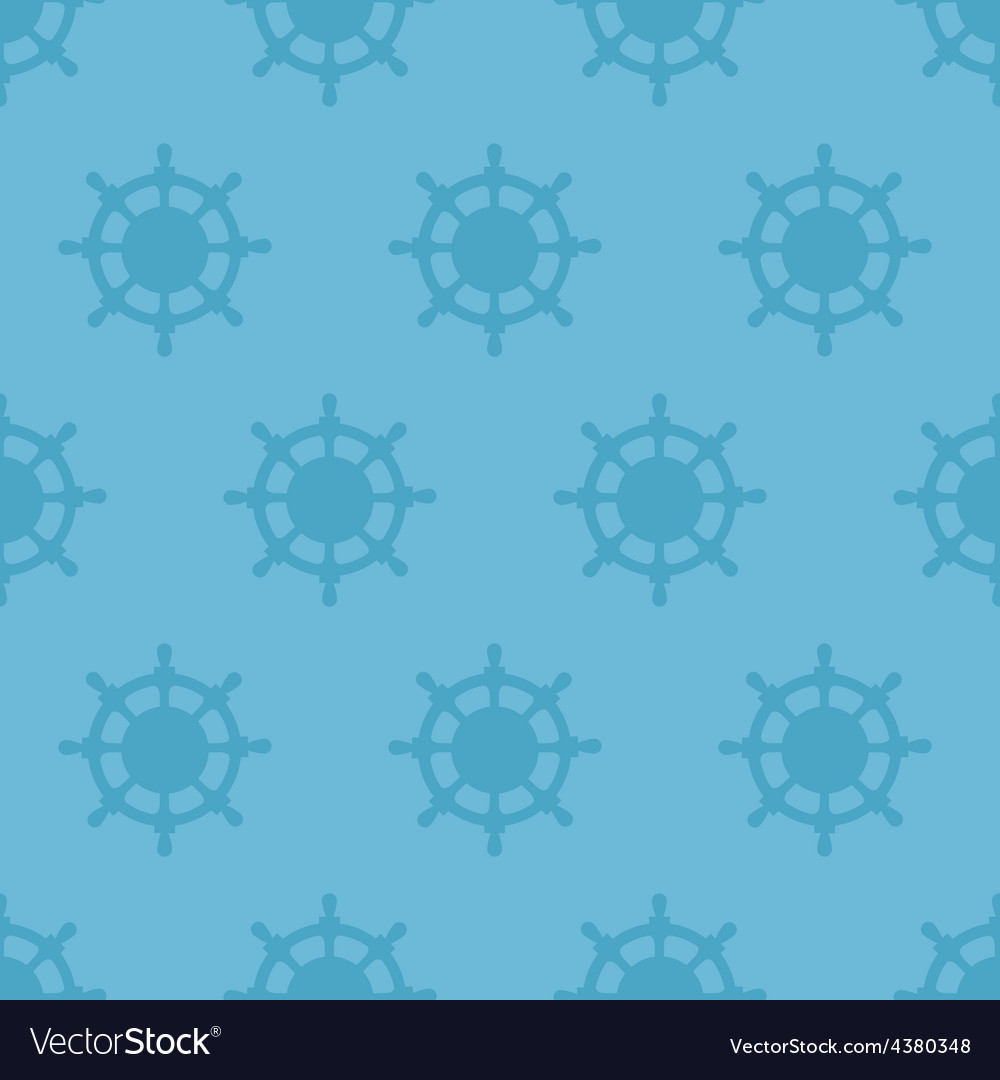 Nautical texture with steering wheels vector | Price: 1 Credit (USD $1)