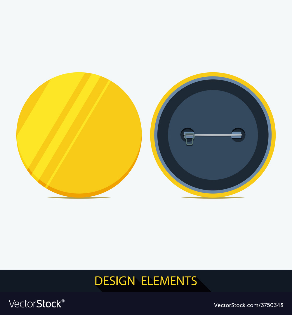 Set of badges in flat style vector | Price: 1 Credit (USD $1)