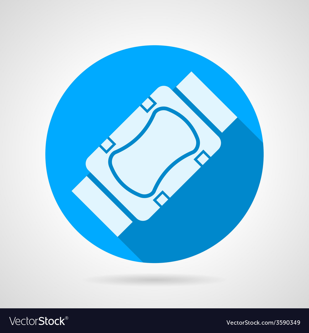 Flat icon for elbow and knee protection vector | Price: 1 Credit (USD $1)