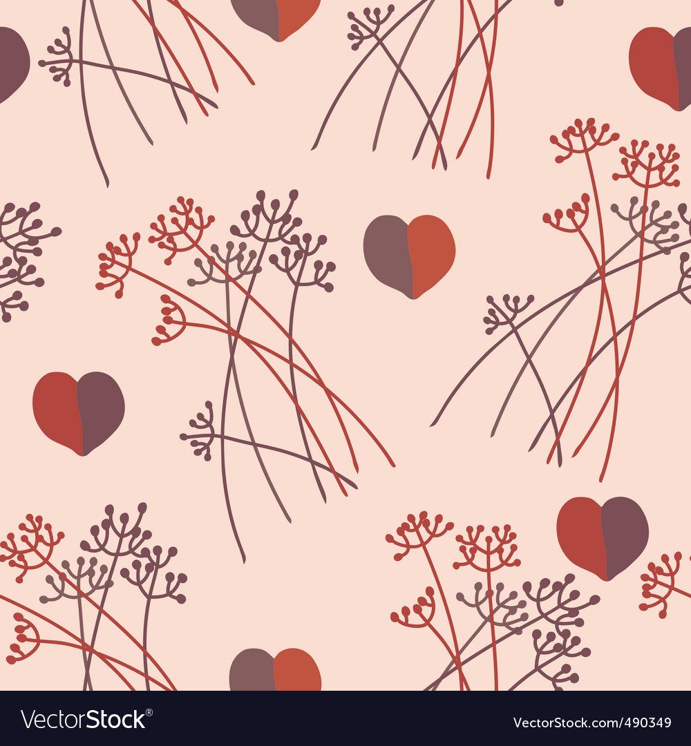 Grass hearts vector | Price: 1 Credit (USD $1)
