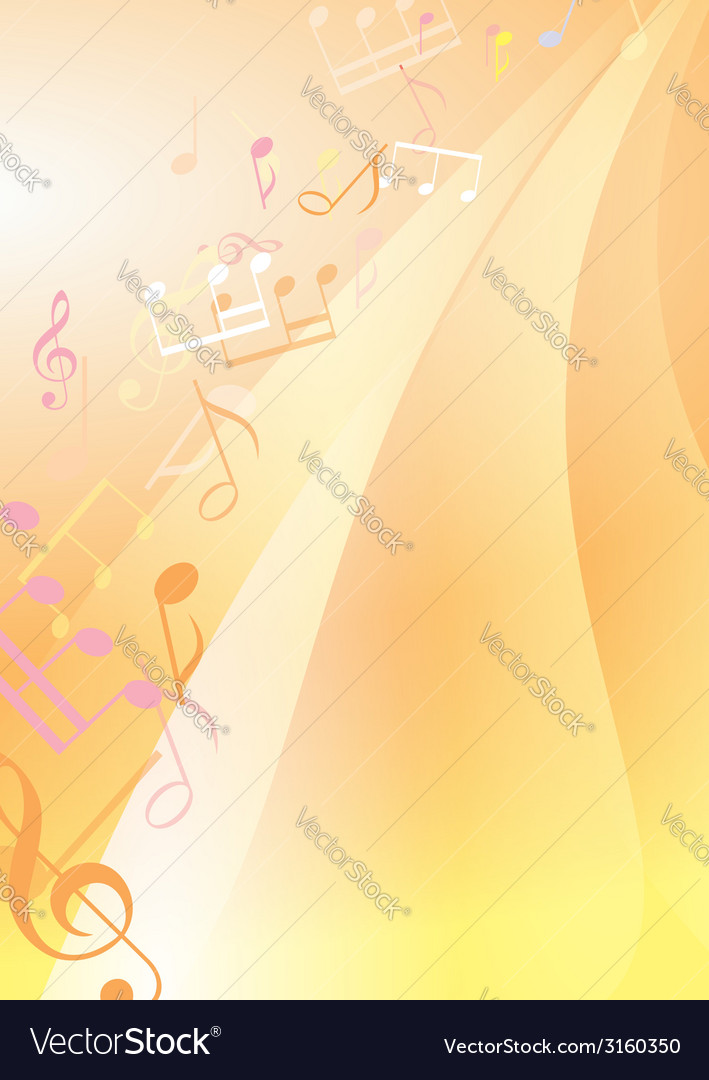 Abstract bright musical background vector | Price: 1 Credit (USD $1)
