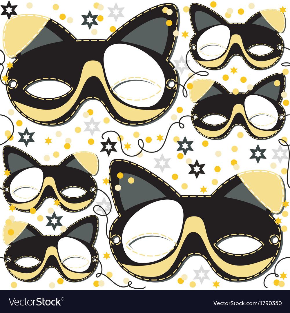 Animal mask design vector   Price: 1 Credit (USD $1)