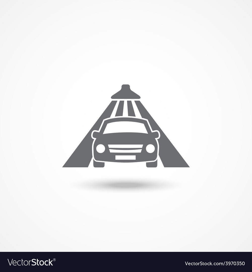Car wash icon vector | Price: 1 Credit (USD $1)