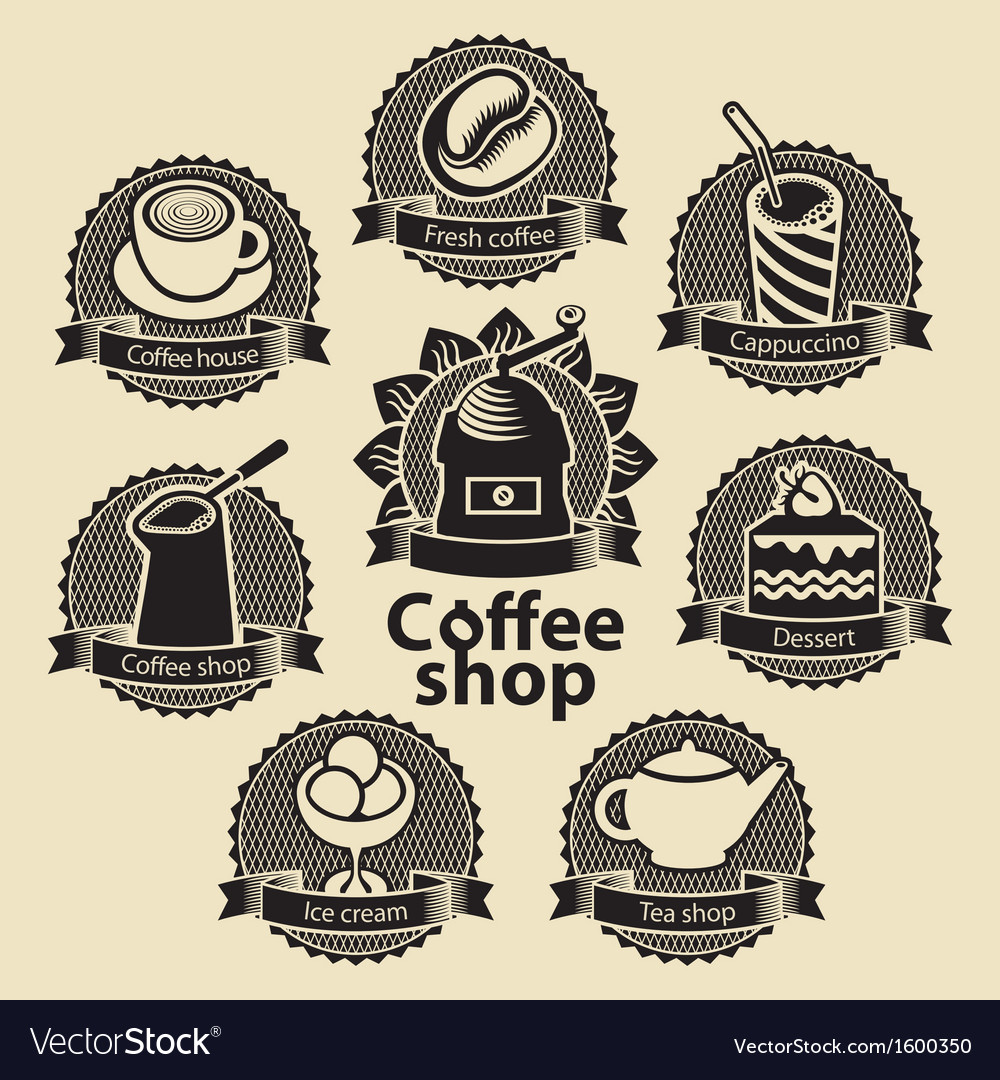 Coffee and tea shop vector | Price: 1 Credit (USD $1)