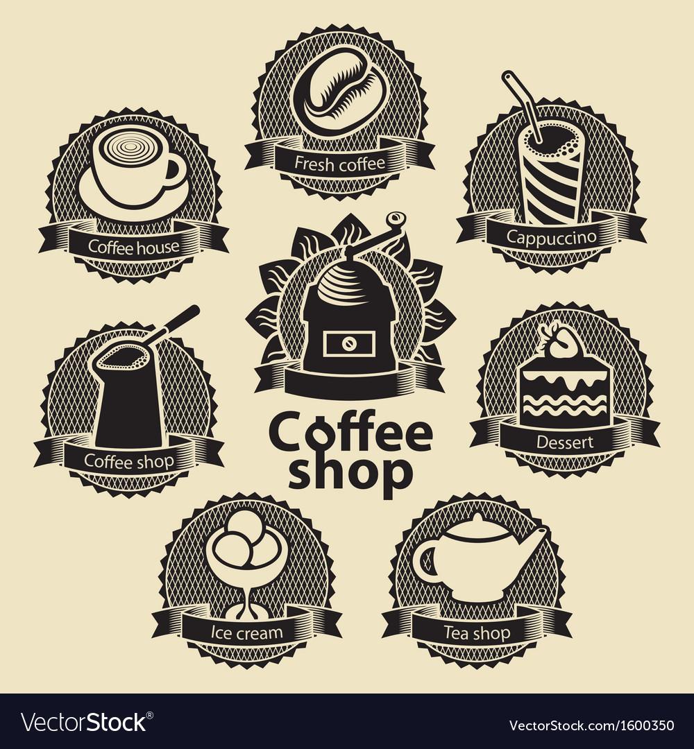 Coffee and tea shop vector   Price: 1 Credit (USD $1)
