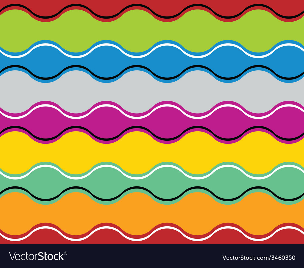 Colorful jolly celebrative wavy background vector | Price: 1 Credit (USD $1)