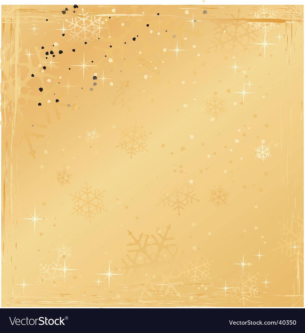 Grunge winter background vector | Price: 1 Credit (USD $1)