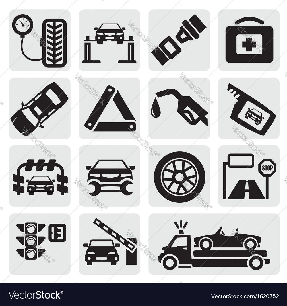 Car service set vector   Price: 1 Credit (USD $1)