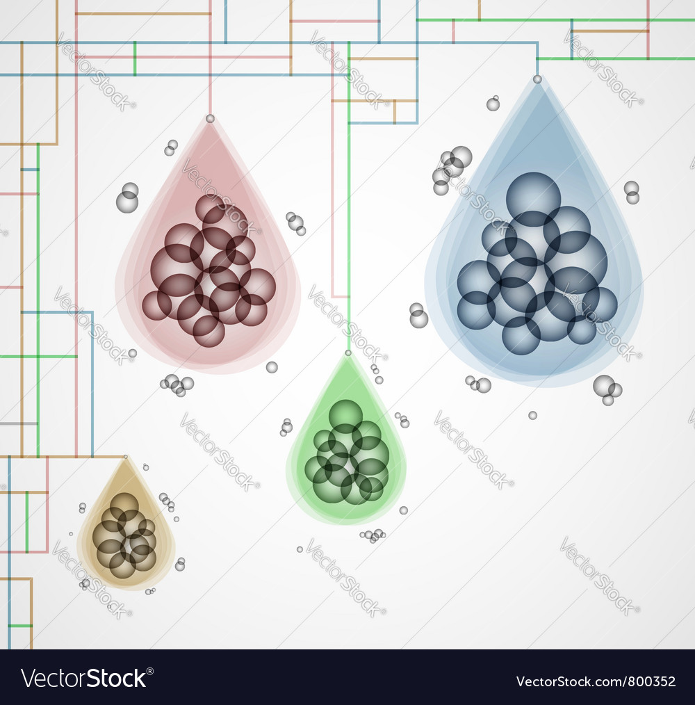 Creative social grouping vector | Price: 1 Credit (USD $1)