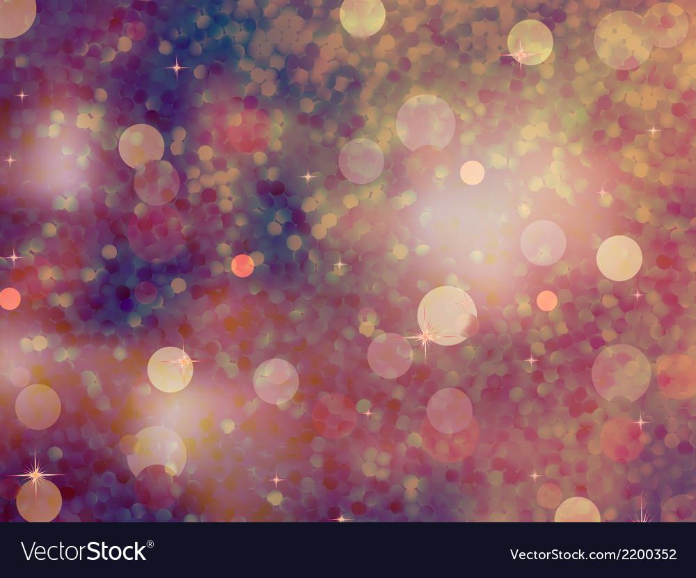 Defocused beidge lights glitter eps 10 vector | Price: 1 Credit (USD $1)