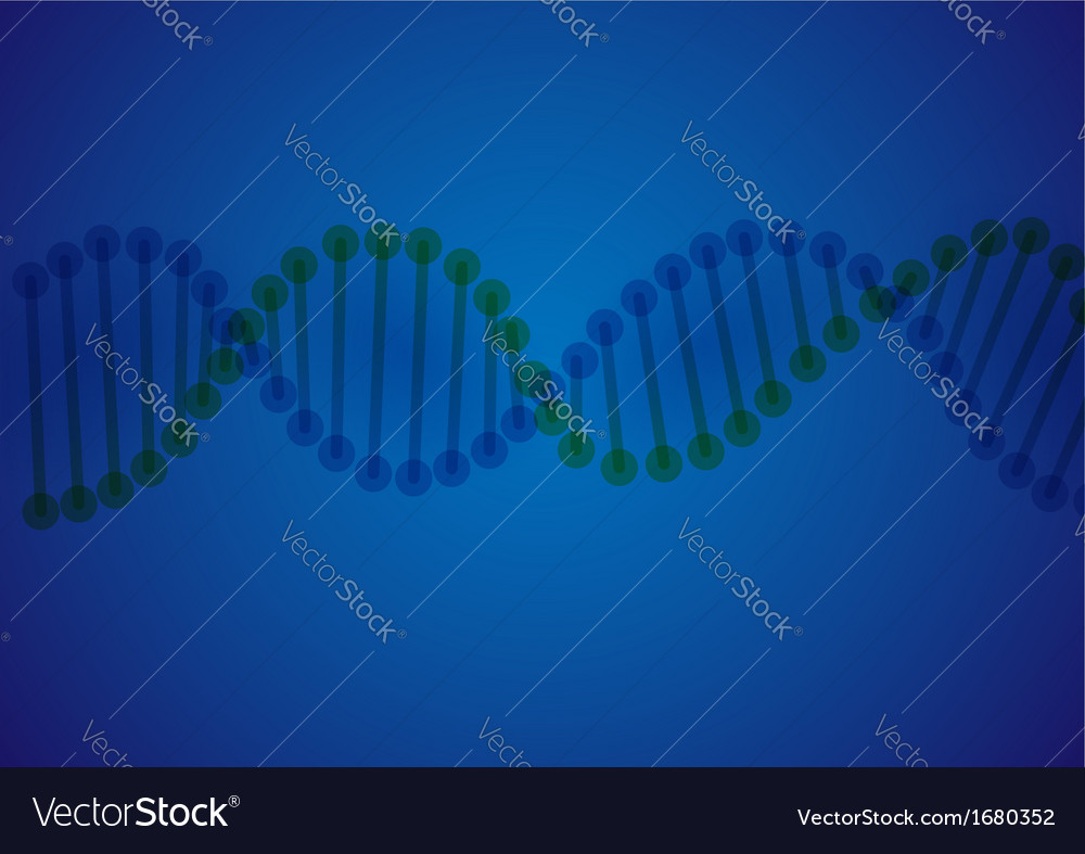 Dna molecule background vector | Price: 1 Credit (USD $1)