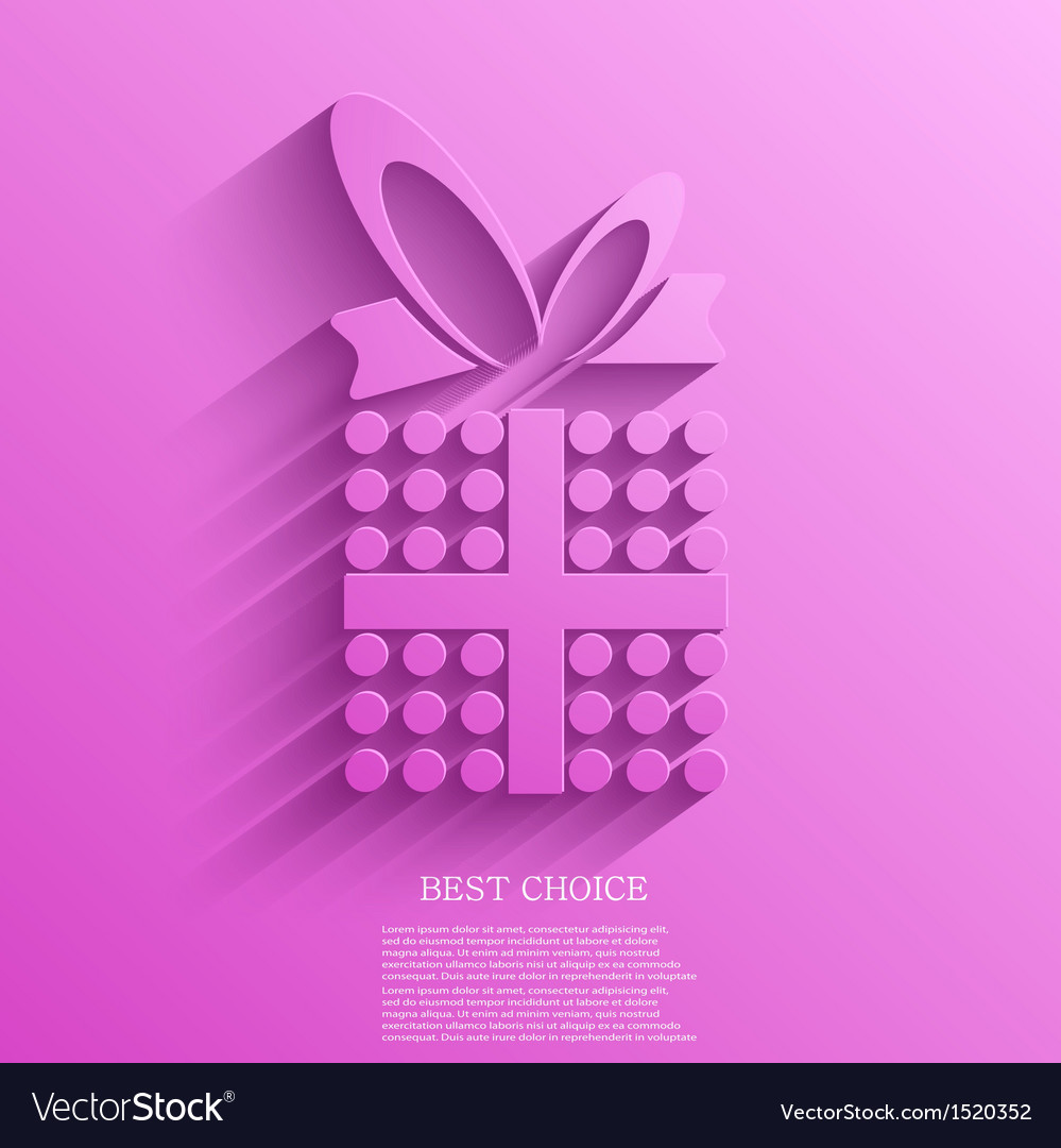 Gift background eps10 vector | Price: 1 Credit (USD $1)