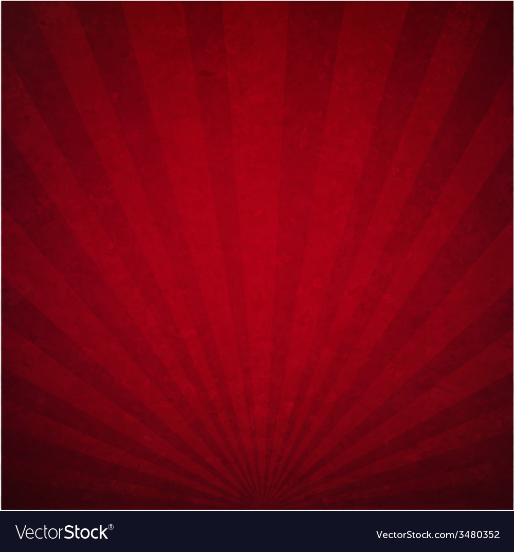 Red luxury sunburst background vector | Price: 1 Credit (USD $1)