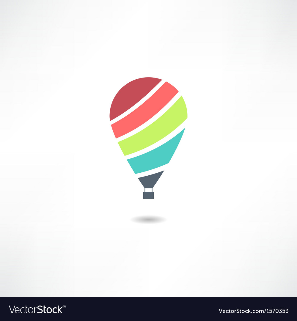 Balloons icon vector | Price: 1 Credit (USD $1)