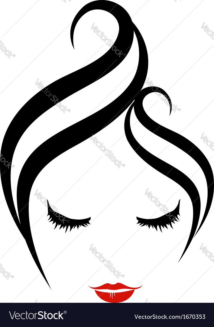 Hair salon logo vector | Price: 1 Credit (USD $1)