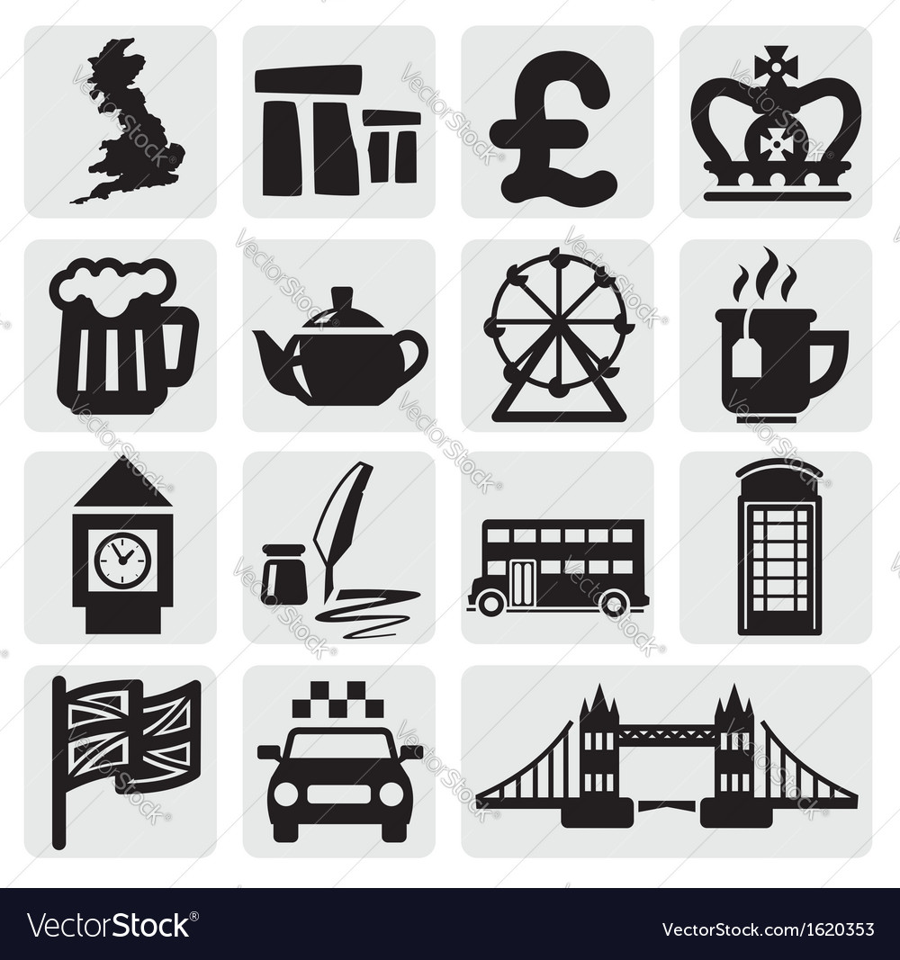Set of uk vector | Price: 1 Credit (USD $1)
