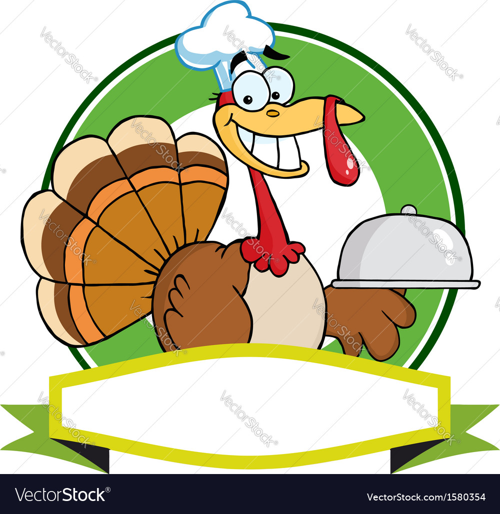 Cartoon turkey vector | Price: 1 Credit (USD $1)