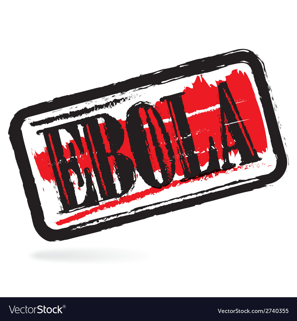 Ebola grunge rubber stamp vector | Price: 1 Credit (USD $1)