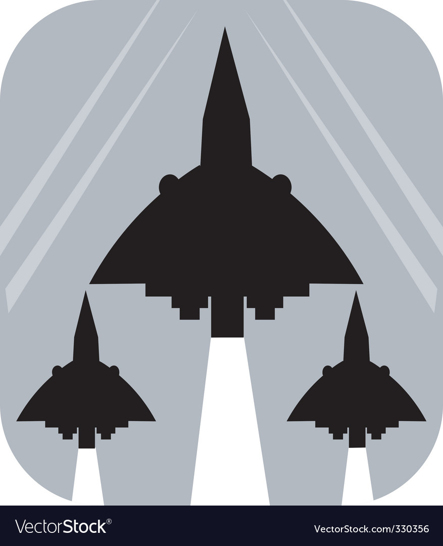 Air show vector | Price: 1 Credit (USD $1)