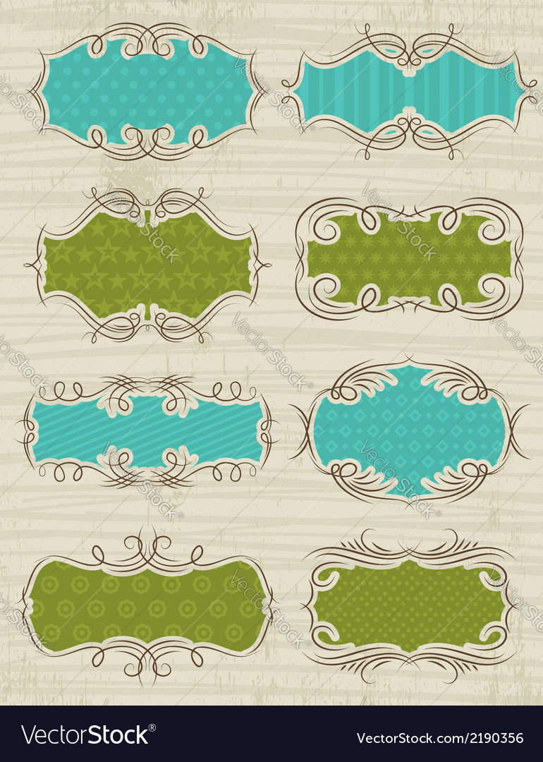 Set of special labels and banners vector | Price: 1 Credit (USD $1)