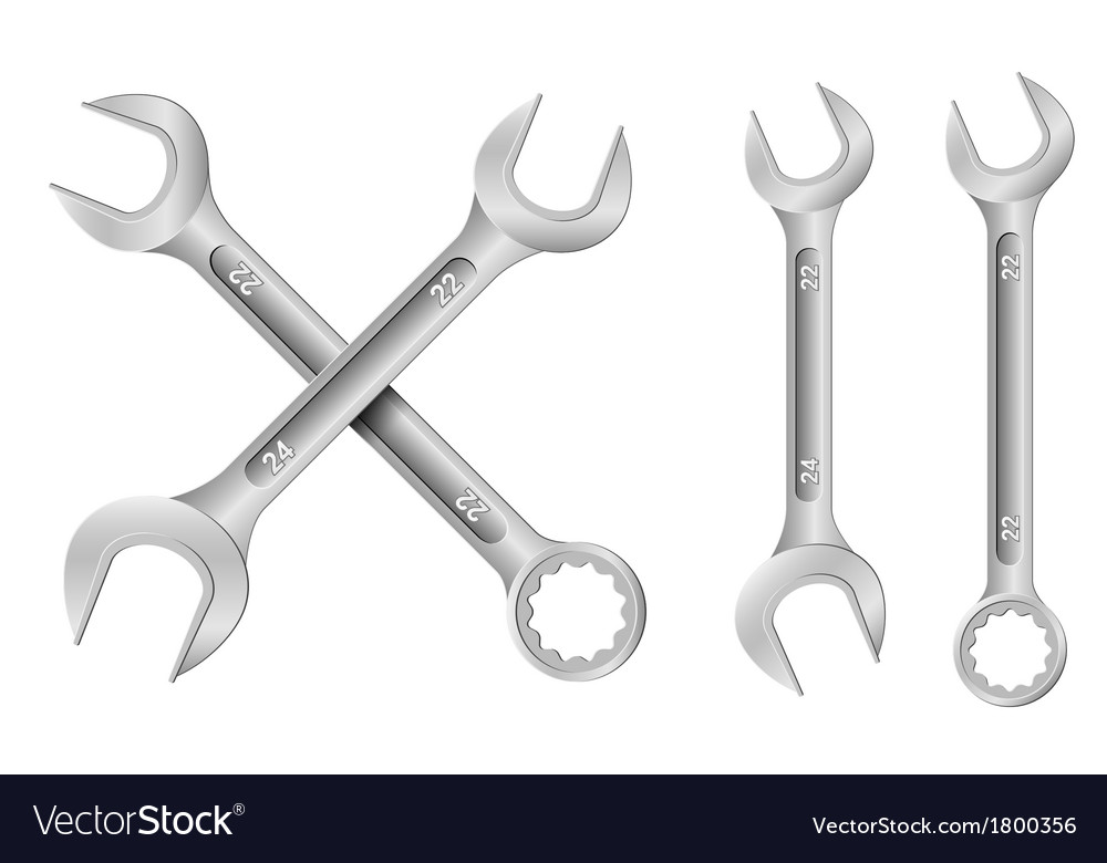 Spanners vector | Price: 1 Credit (USD $1)
