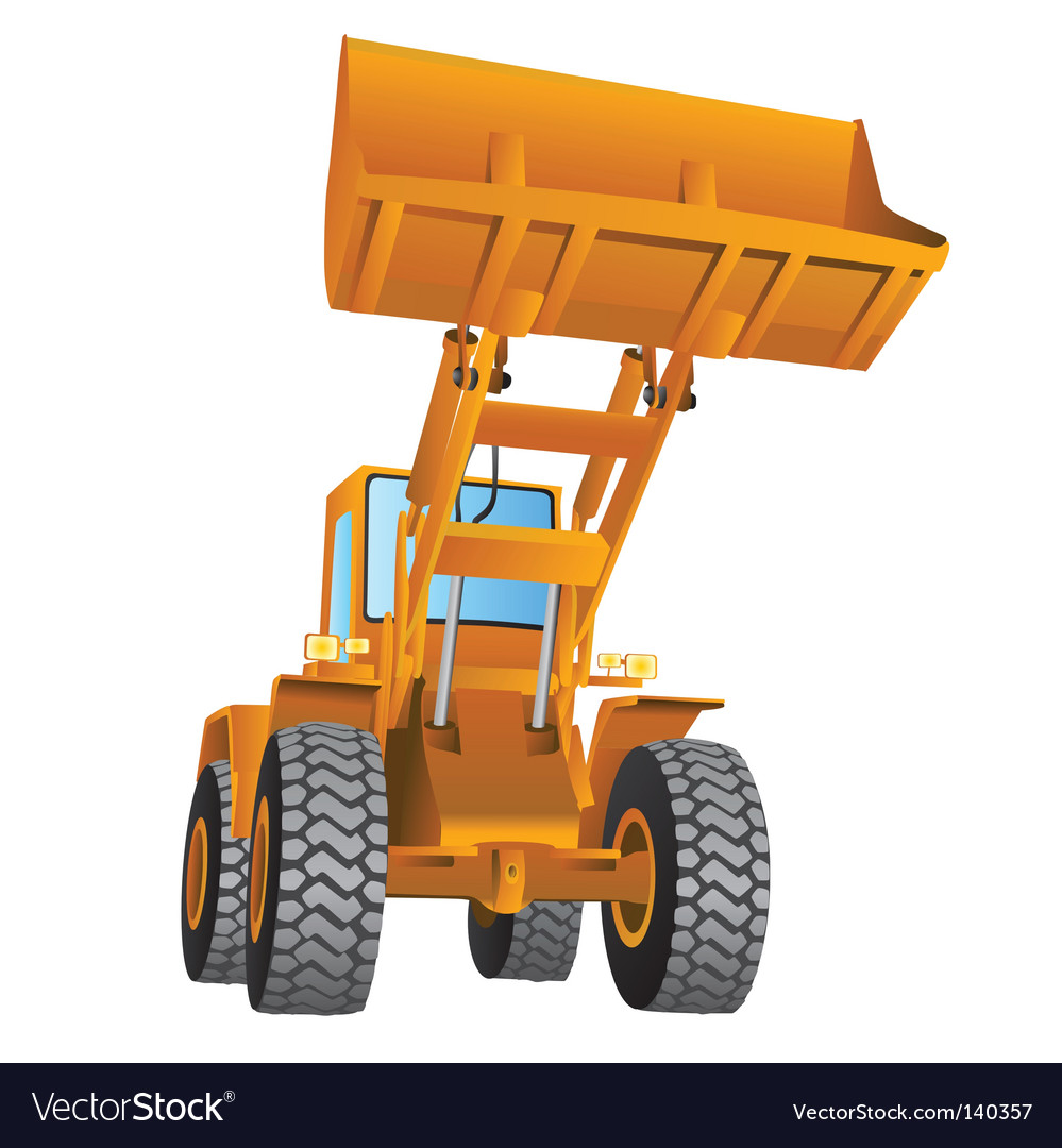 Construction machine vector | Price: 1 Credit (USD $1)