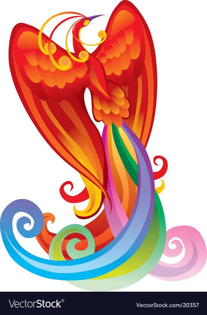Magic bird vector | Price: 1 Credit (USD $1)