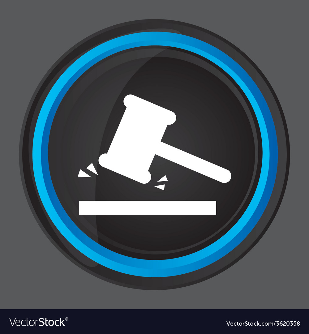 Justice icon design vector | Price: 1 Credit (USD $1)