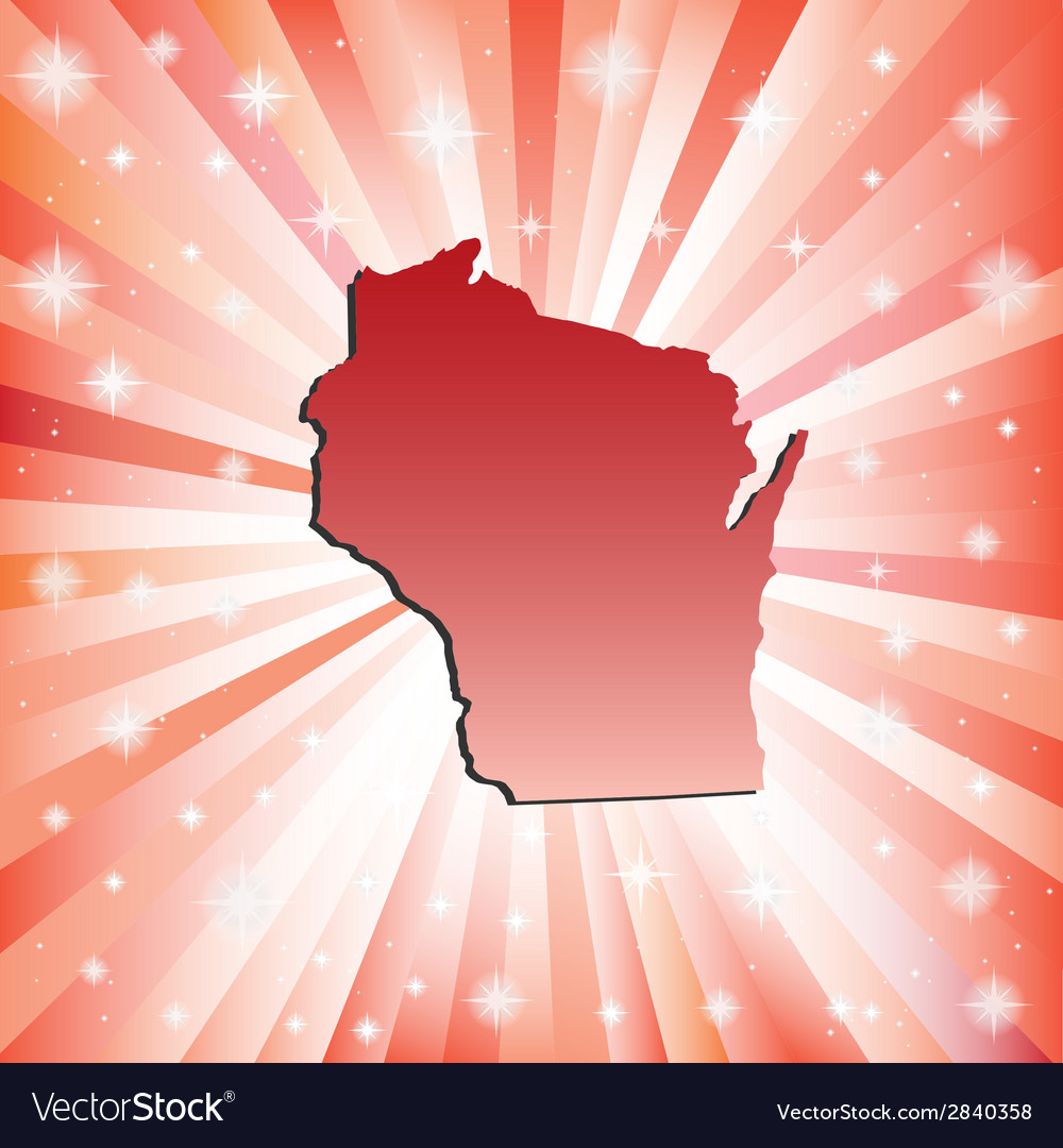 Red wisconsin vector | Price: 1 Credit (USD $1)