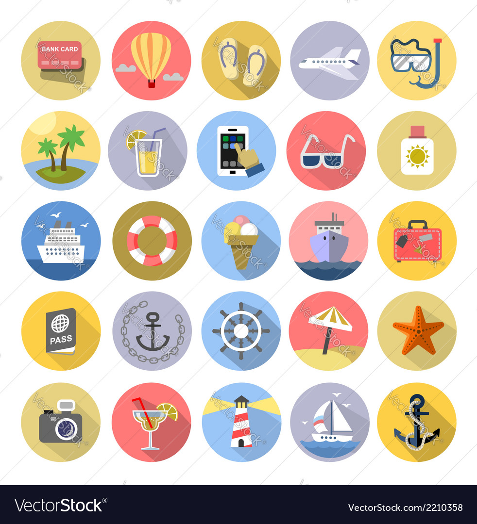 Tourism icons se vector | Price: 1 Credit (USD $1)