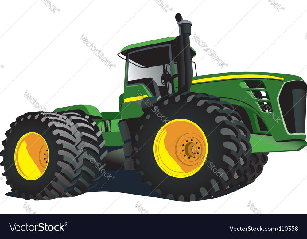 Tractor vector | Price: 1 Credit (USD $1)