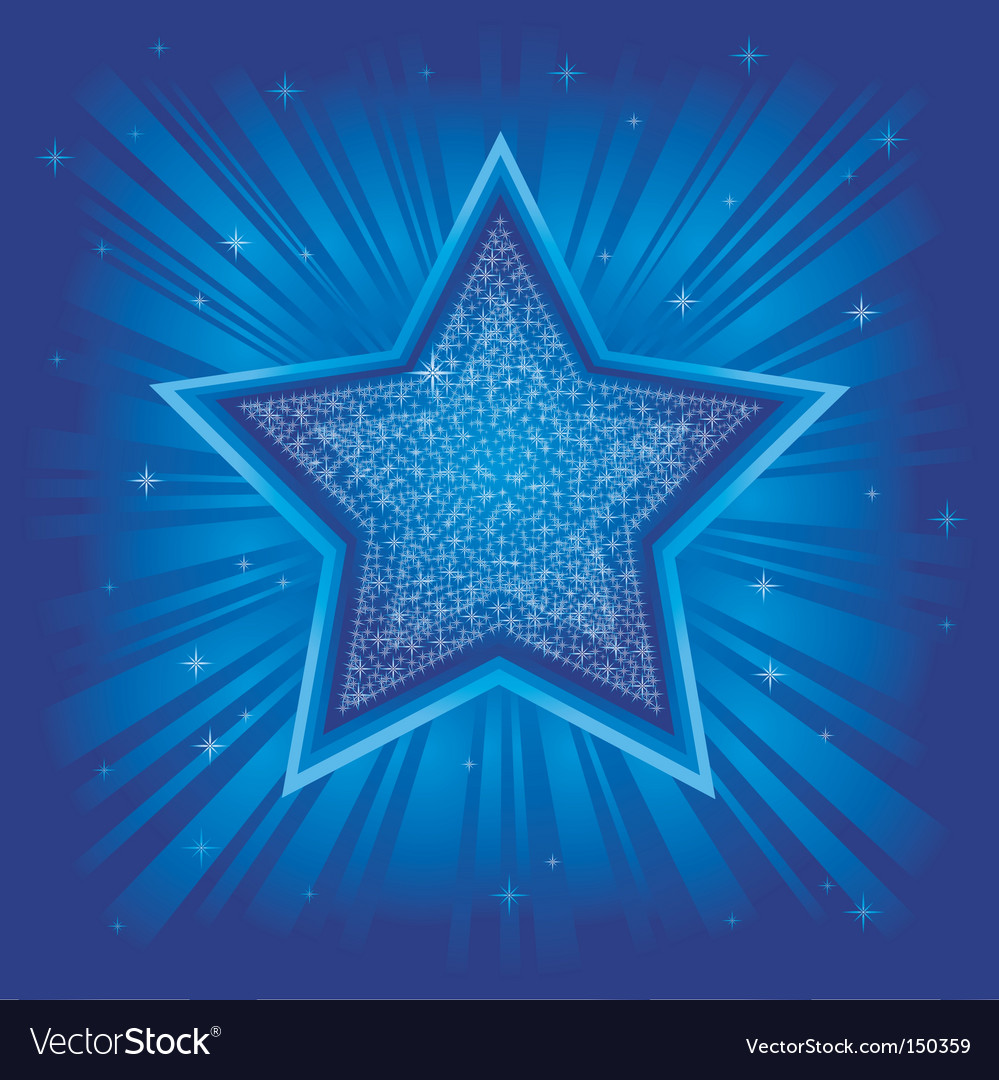 Bright star vector | Price: 1 Credit (USD $1)