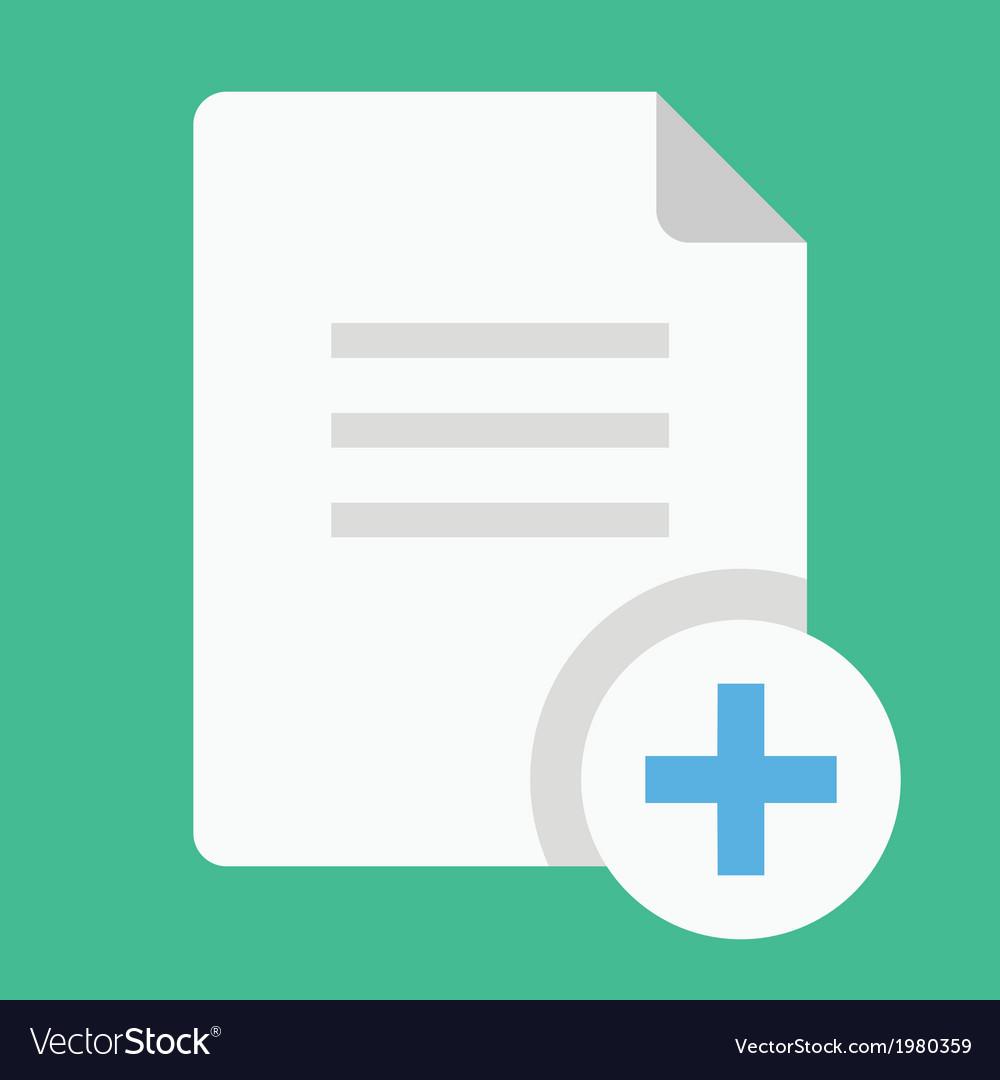 Copy document icon vector | Price: 1 Credit (USD $1)