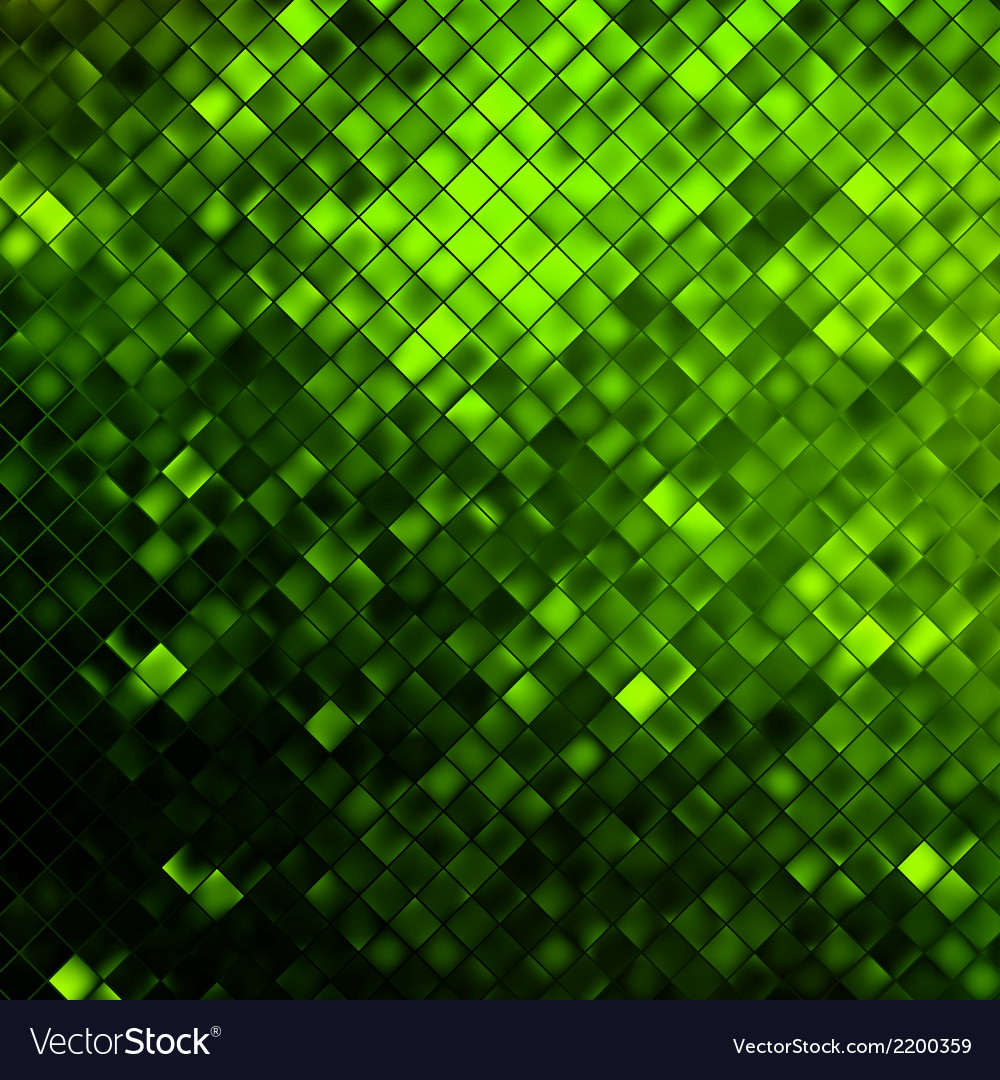 Green glitters on a soft blurred eps 10 vector | Price: 1 Credit (USD $1)