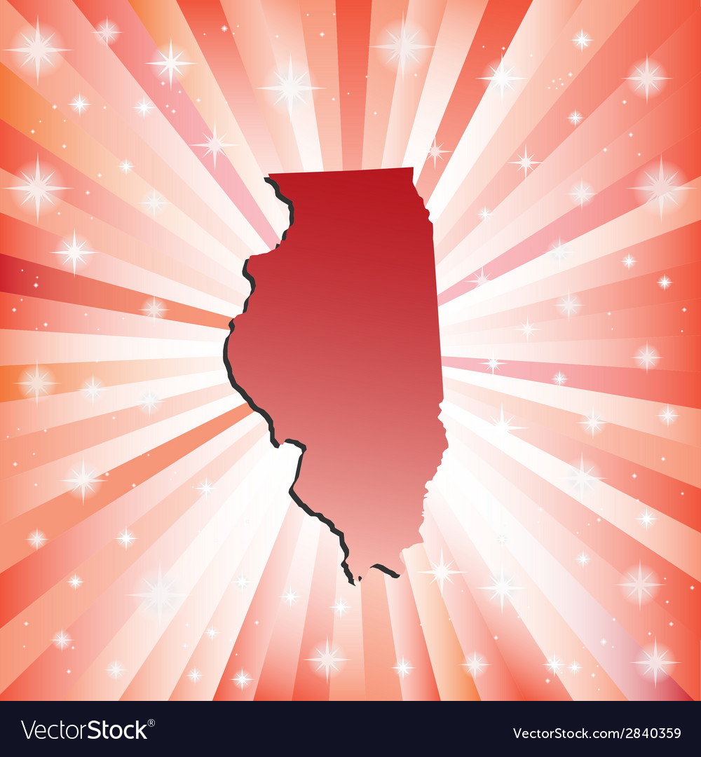 Illinois springfield vector | Price: 1 Credit (USD $1)