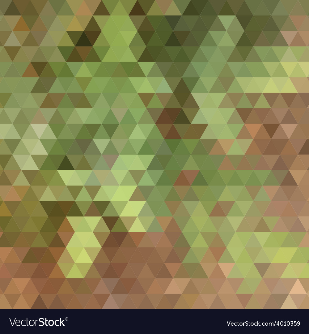 Nature colors triangle abstract background vector | Price: 1 Credit (USD $1)
