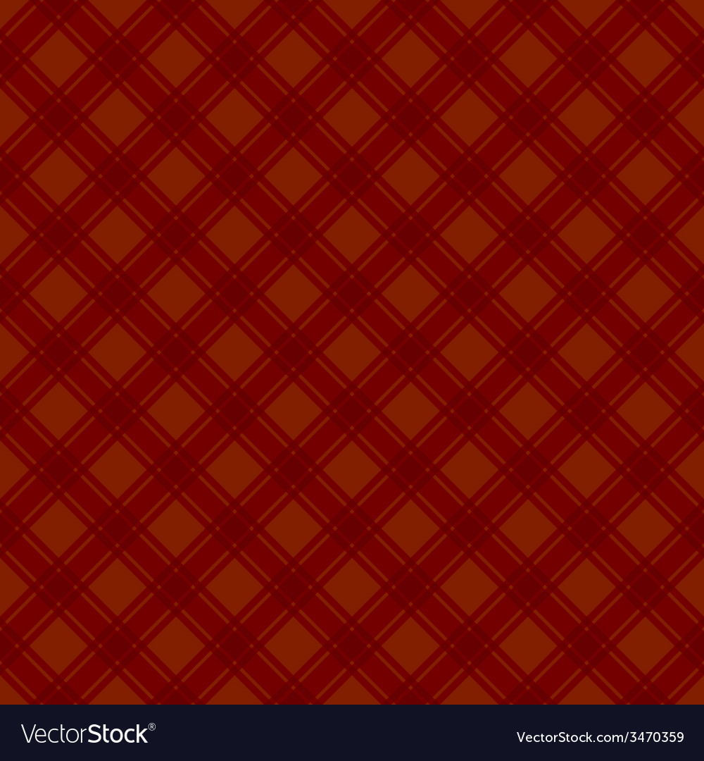 Seamless red fabric tartan background vector | Price: 1 Credit (USD $1)
