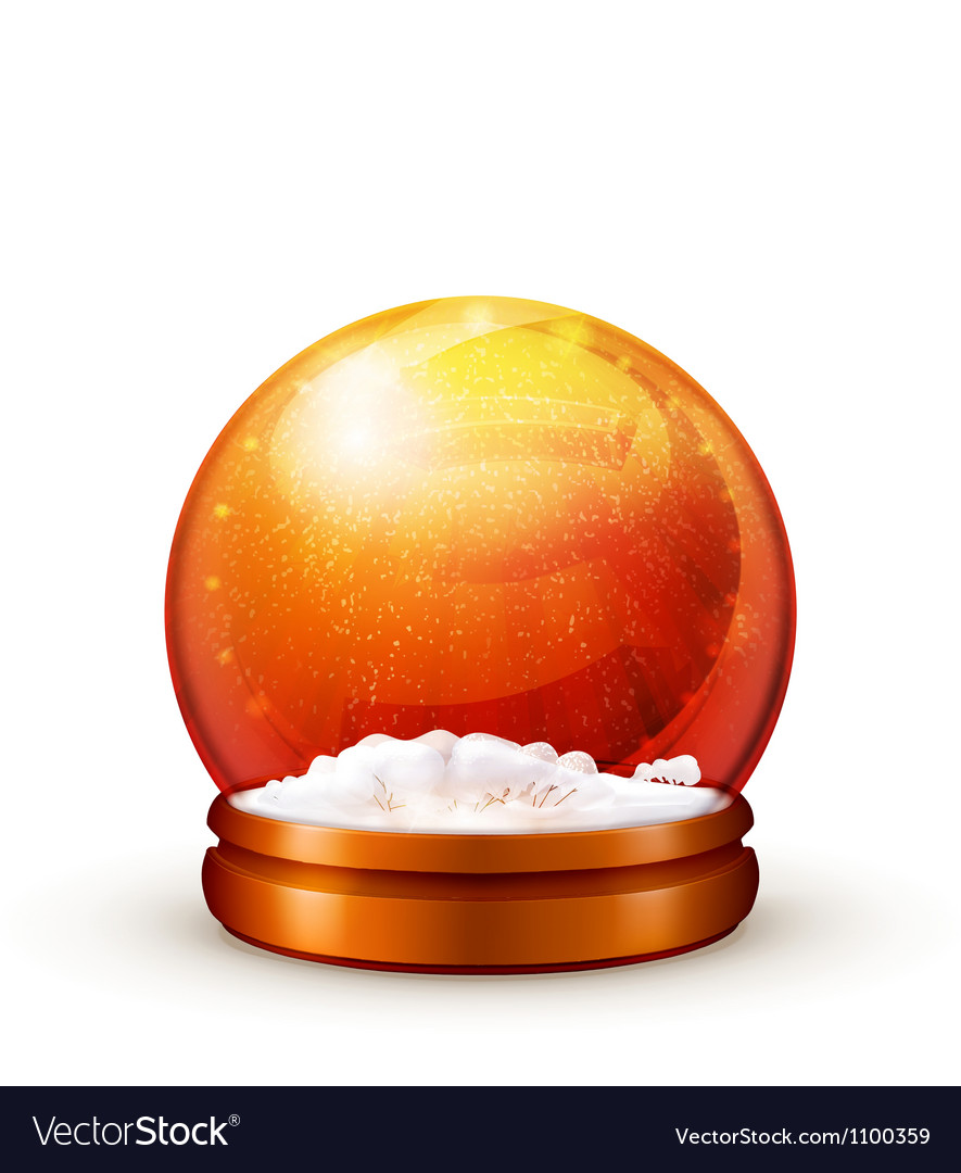 Snow ball vector | Price: 1 Credit (USD $1)
