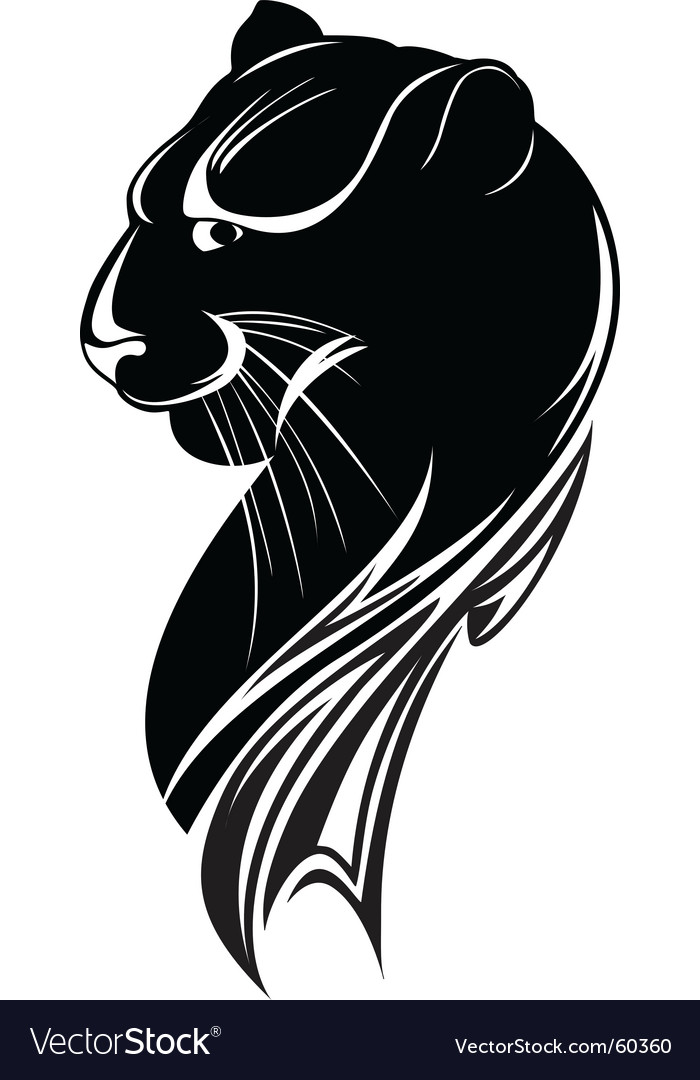 Black panther vector | Price: 1 Credit (USD $1)
